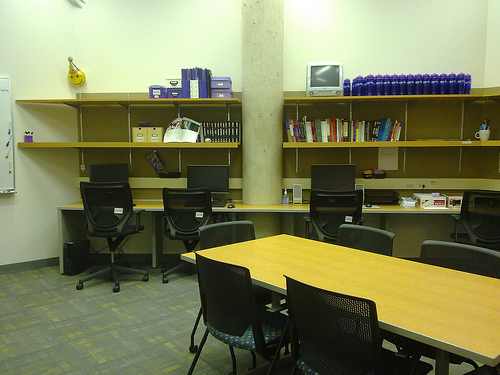Lab side view